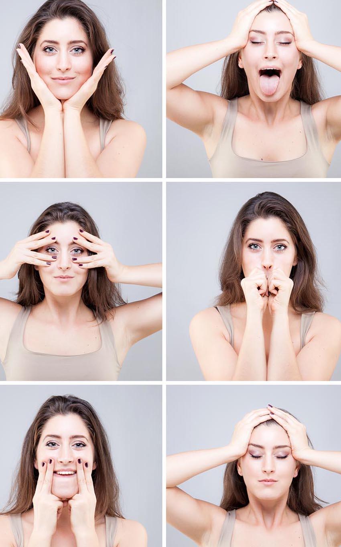 yoga facciale